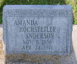Amanda <i>Hochstetler</i> Anderson