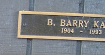 B Barry Kaye