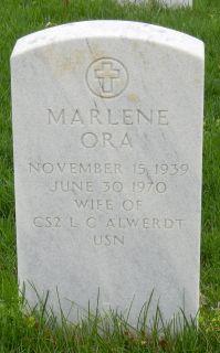 Marlene Ora Alwerdt