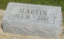 Honora Mertille Nora <i>Baker</i> Martin