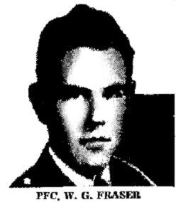 PFC William Gerard Jerry Fraser, Jr