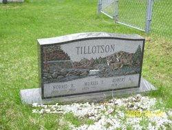 Muriel F. <i>Dezotell</i> Tillotson