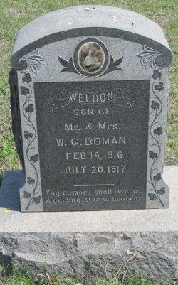 Weldon Boman
