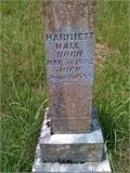 Harriett <i>Henry</i> Hall