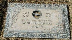 Sandra Dianne <i>Daniell</i> Bowen