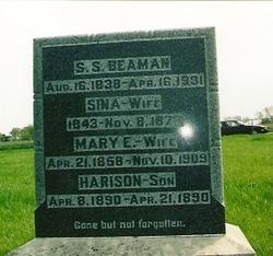 Mary Elizabeth <i>Cornelia</i> Beaman
