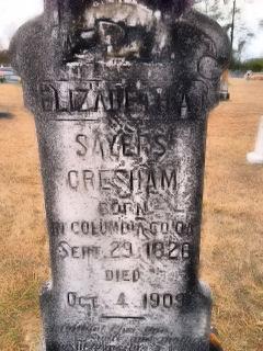 Elizabeth A <i>Sayers</i> Gresham