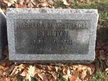 Barbara Mary <i>Spetnagel</i> Boulton