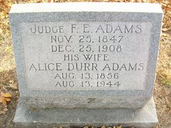 Judge Francis Erwin Frank Adams