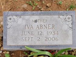 Iva Marie <i>Abney</i> Abner