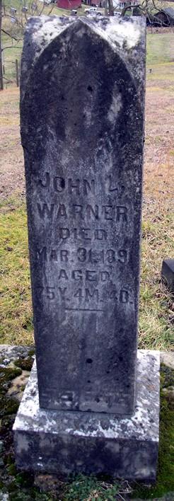 John Lewis Warner