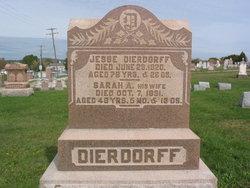 Sarah Ann <i>Leathery</i> Dierdorff