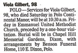 Viola Edna <i>Everly</i> Gilbert