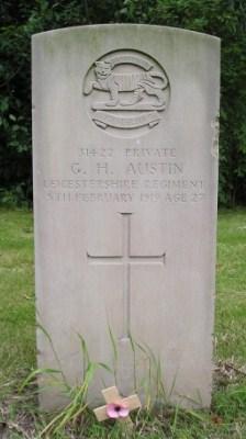 Private G H Austin