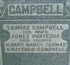 Agnes <i>Porteous</i> Campbell