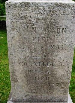 Cornelia Ann <i>Lent</i> Wixon