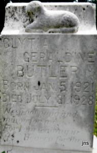 Geraldine Olythia Butler