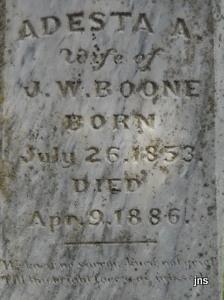 Adesta A Boone