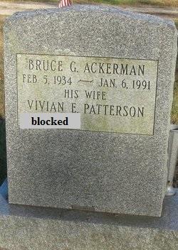 Bruce G Ackerman