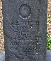 Hattie B. <i>Robbins</i> Chandler