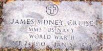 James Sidney Cruise, Sr