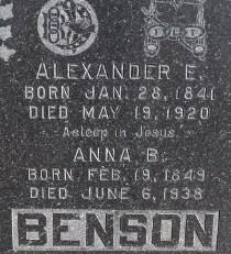 Anna B. Benson