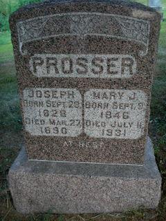 Mary Jane <i>Chamberlain</i> Prosser