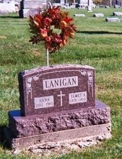 Anna Mary Annie <i>Phillips</i> Lanigan