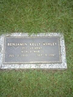 Benjamin Kelly Ashley