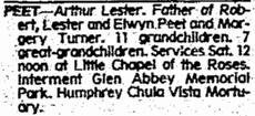 Arthur Lester Peet