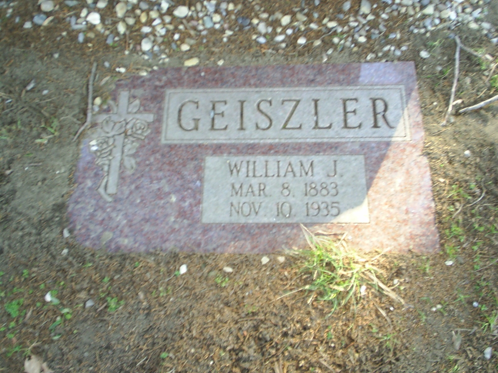 William Geiszler tombstone