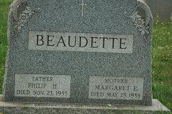 Margaret <i>Butler</i> Beaudette