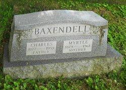 Myrtle Irene <i>Powell</i> Baxendell