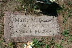 Marie M <i>Stoneburner</i> Bowers
