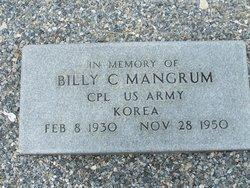 Sgt Billy Clyde Mangum