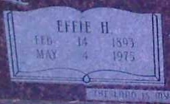 Effie H. Nelson