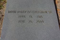 David Anderson Crenshaw, Sr