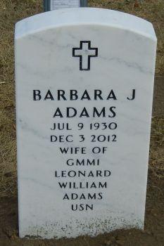 Barbara Jean <i>Rigdon</i> Adams
