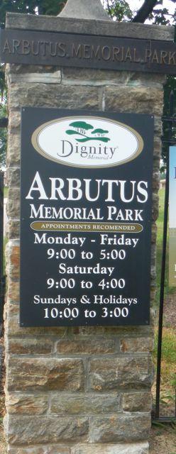 Arbutus Memorial Park