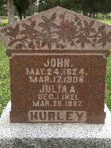 Julia Ann <i>Baldwin</i> Hurley