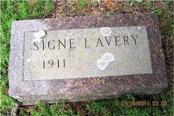 Signe Irene <i>Holm</i> Avery