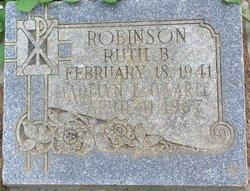 Ruth B <i>Callaghan</i> Robinson
