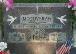 Tressie Jane <i>Sanders</i> McGoveran