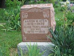 Jennie Alice <i>Terflinger</i> Ater