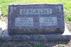 Nanny E. <i>Oberg</i> Bergklint