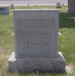Mary Nancy <i>Lyon</i> Blakeslee