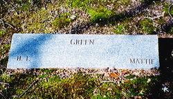 Martha Mattie Green