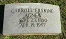 Carroll Erskine Agnew, Sr