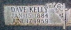 Dave Kelly Cash
