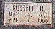 Russell Dowe Cash